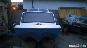 "barca cu cabina Dory 13""+ Honda 40 cp 4 timpi - imagine 6"