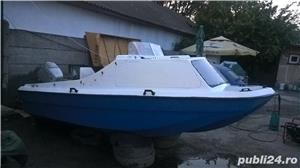 "barca cu cabina Dory 13""+ Honda 40 cp 4 timpi - imagine 7"