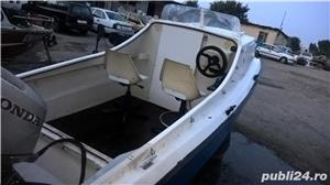 "barca cu cabina Dory 13""+ Honda 40 cp 4 timpi - imagine 8"