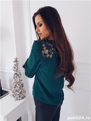 Bluza dama turcoaz - imagine 2