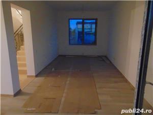 FARA COMISIOANE casa cu 4 camere 2 bai P+1+pod terasa utilitati canalizare in Chiajna merita vazuta - imagine 2
