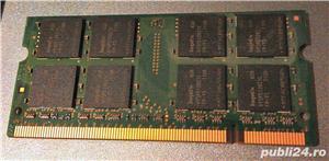 Memorie RAM laptop notebook 1GB SODIMM DDR2 667 MHz PC2-5300S Hynix - imagine 2