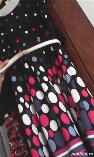 Vind rochie cu buline multicolore - imagine 2