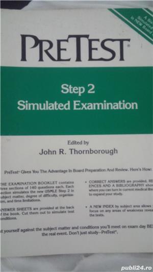 Vand carte cu teste pentru licenta de doctor in SUA - imagine 1