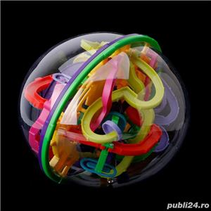 Puzzle 3D Tricky Twist, perplexus, joc copii, adulti, maze, balon labirint. Nou - imagine 2