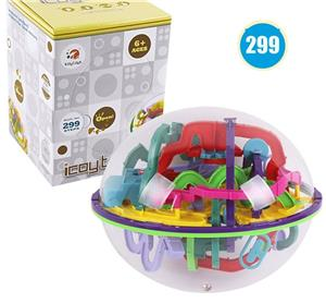Puzzle 3D Tricky Twist, perplexus, joc copii, adulti, maze, balon labirint. Nou - imagine 4