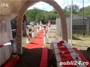 Aranjamente nunti si botezuri la cort sau local  - imagine 3