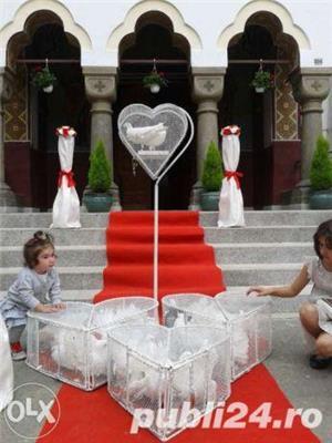 Aranjamente nunti si botezuri la cort sau local  - imagine 2