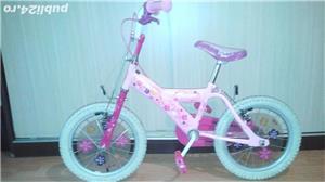 vand bicicleta Barbie 14' - imagine 2