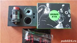 Wotofo Bravo RTA Black  - imagine 2