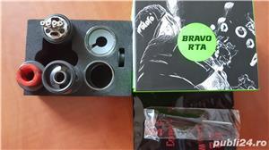 Wotofo Bravo RTA Black  - imagine 1