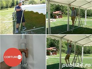 NOU Cort Professional Plus 4x12 PVC 550 gr, 2 m, IGNIFUG - imagine 4