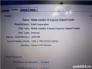 Laptop dell 1545 Core 2duo 4gb Ram 250gb Hard Display 15,6 led Web Cam - imagine 6