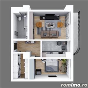 Apartamente cu 2 camere decomandate 64.34mp, finisaje premium - imagine 13