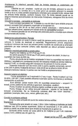 Teren intravilan Vama Veche cu certificat de urbanism P+4E la 200 m de plaja - imagine 5