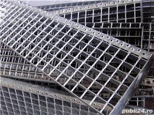 Trepte Metalice zincate Sp, 760x220,25x3 - imagine 3