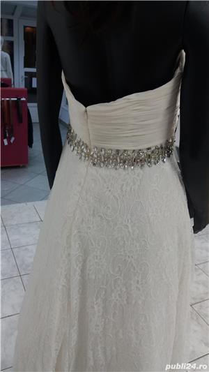 Rochie de mireasa - noua, cu eticheta . - imagine 2
