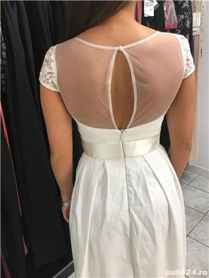 Rochie de mireasa Chi Chi London - noua, cu eticheta , marimea UKculoare ivory. - imagine 3