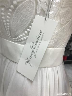Rochie de mireasa Young Couture by Barbara Schwarzer - noua, cu eticheta, marimea 40 .  - imagine 5