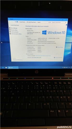 "HP Elitebook 2540P 12.1"" Intel Core i5-540M 2.53 GHz 4GB DDR3 250GB Win 10 Pro - imagine 7"