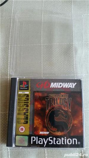 joc MORTAL KOMBAT TRILOGY  , PS1 , playstation 1 ,colectie  - imagine 2