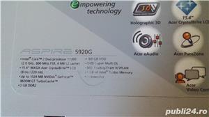 Vand laptop Acer Aspire 5920G - imagine 2