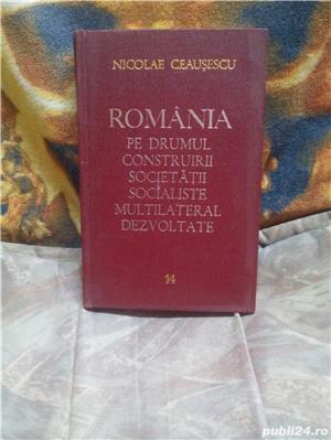 Romania pe drumul construirii societatii  socialiste Vol 14 - imagine 1