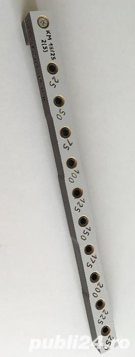 Sablon de mobila pentru ericsoane L=285mm , 10x bucse 5mm PAL 16/18mm - imagine 1