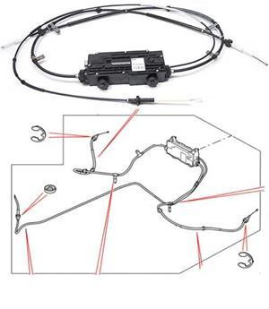 Modul frana de parcare Range Rover Sport - imagine 5