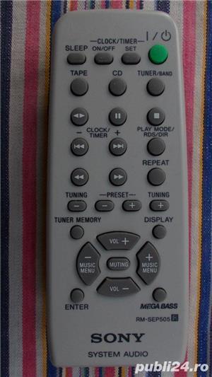 Telecomanda SONY diverse modele pt.audio combina,portabile - imagine 2