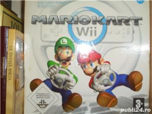 Joc Mario Kart WII La Cutie Cu volan (Schimb) - imagine 1