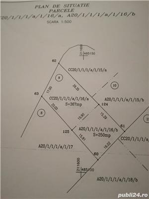 Vind teren 617 m² cu autorizatie de constructie Gearmata Vii aproape de Padurea Verde - imagine 1