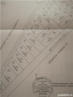Vind teren 617 m² cu autorizatie de constructie Gearmata Vii aproape de Padurea Verde - imagine 3