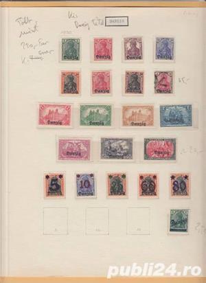 timbre Germania veche - imagine 2