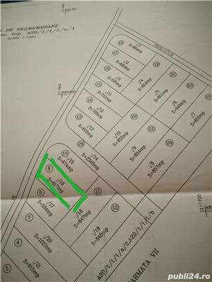 Vind teren 617 m² cu autorizatie de constructie Gearmata Vii aproape de Padurea Verde - imagine 4