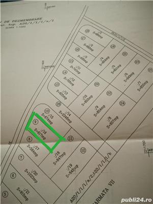 Vind teren 617 m² cu autorizatie de constructie Gearmata Vii aproape de Padurea Verde - imagine 7
