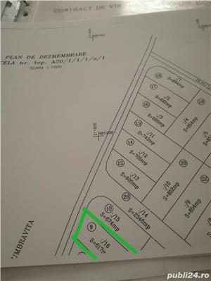 Vind teren 617 m² cu autorizatie de constructie Gearmata Vii aproape de Padurea Verde - imagine 6