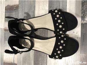 Sandale piele Clarks - imagine 3