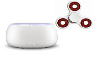 Umidificator Difuzor Aromaterapie Ultrasunete,Rezervor 500 ml+un Fidget Spinner cadou - imagine 2