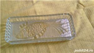 Platou vechi din sticla termorezistenta pentru peste - imagine 2