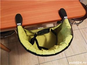 Mountain Buggy Pod - scaun mobil, suspendat cu prindere de masa, blat - imagine 9