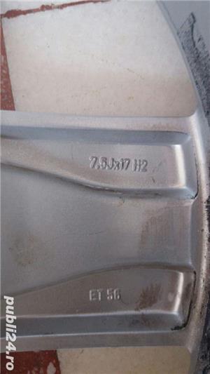 "Jante aliaj Audi 17"" - imagine 3"