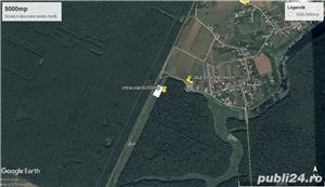 Scrovistea-Snagov-Peris 1000 mp / 21 ml,deschidere la  padure seculara ! Intravilan Construibil, - imagine 7