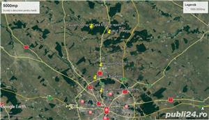 Scrovistea-Snagov-Peris 1000 mp / 21 ml,deschidere la  padure seculara ! Intravilan Construibil, - imagine 9