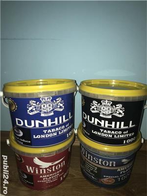Tutun galetusa sigilat Marlboro sobranie dunhill camel Winston pall mall .sigilat și etichetat  - imagine 3