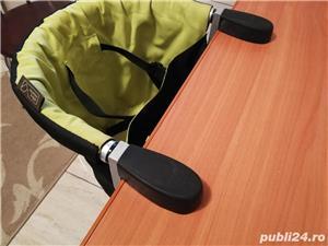 Mountain Buggy Pod - scaun mobil, suspendat cu prindere de masa, blat - imagine 6