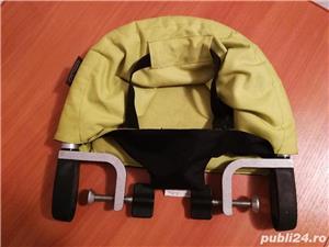 Mountain Buggy Pod - scaun mobil, suspendat cu prindere de masa, blat - imagine 2