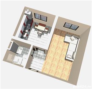 Apartament 1 camera 23000 euro SISTEM RATE , Lunca Cetatuii - imagine 2