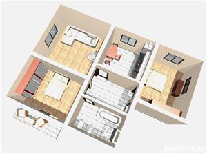 Apartament nou de vanzare cu 3 camere in Lunca Cetatuii - imagine 2