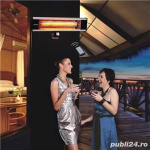 Incalzitor de terasa electric cu raze infrarosii , de perete - imagine 2